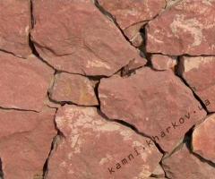 Песчаник бордо природный