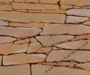 Песчаник коричневый резаный
