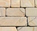 Песчаник светлый полоса10 окатанный
