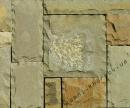 Песчаник серо-коричневый рустованный
