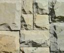Песчаник светлый резано-рустованный